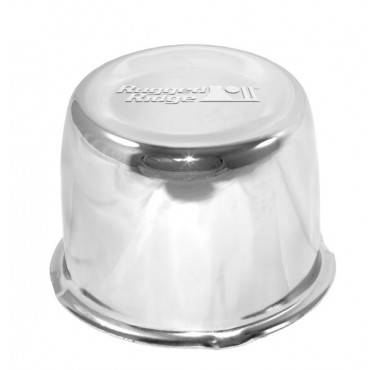 Rugged Ridge - Rugged Ridge Center Cap, Chrome, Rugged Ridge Steel Wheel