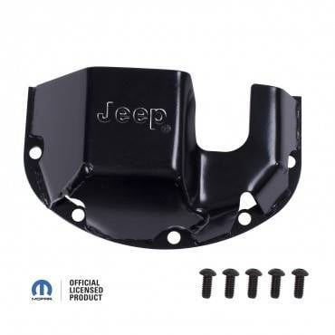 Rugged Ridge - Rugged Ridge Differential Skid Plate, Jeep logo, for Dana 30