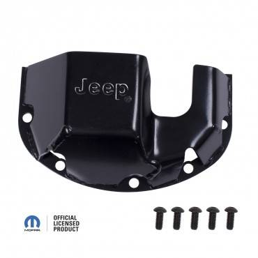 Rugged Ridge - Rugged Ridge Differential Skid Plate, Jeep logo, for Dana 35