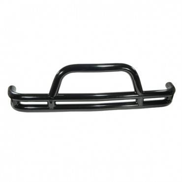 Rugged Ridge - Rugged Ridge Double Tube Front Bumper, 3 Inch (1984-96) Jeep Cherokee XJ