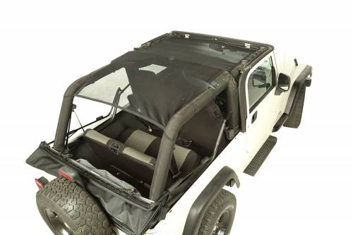Rugged Ridge - Rugged Ridge Eclipse Sun Shade, Full Cover (2004-06) Jeep Wrangler Unlimited LJ