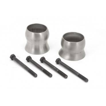 Rugged Ridge - Rugged Ridge Exhaust Spacer Kit (2012-15) Jeep Wrangler JK