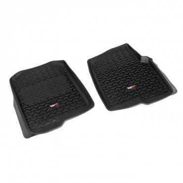 Rugged Ridge - Rugged Ridge Floor Liners, Front, Black (2004-08) Ford F-150 (2006-08) Lincoln Mark LT