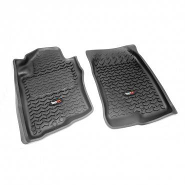 Rugged Ridge - Rugged Ridge Floor Liners, Front, Black (2005-12) Nissan Pathfinder (2005-15) Xterra