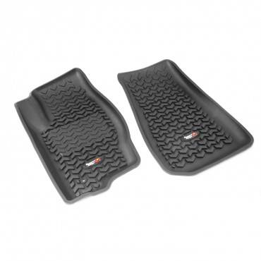 Rugged Ridge - Rugged Ridge Floor Liners, Front, Black (2007-12) Caliber (2007-14) Jeep Compass/Patriot