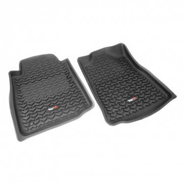 Rugged Ridge - Rugged Ridge Floor Liners, Front, Black (2008-11) Toyota Sequoia/Tundra