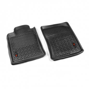 Rugged Ridge - Rugged Ridge Floor Liners, Front, Black (2010-13) Toyota 4Runner