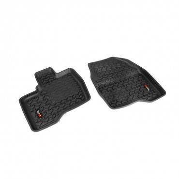 Rugged Ridge - Rugged Ridge Floor Liners, Front, Black (2011-14) Ford Explorer