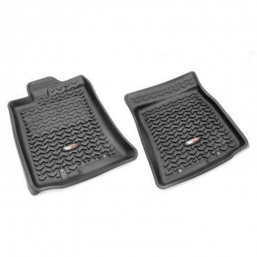 Rugged Ridge - Rugged Ridge Floor Liners, Front, Black (2012-14) Toyota FJ Cruiser
