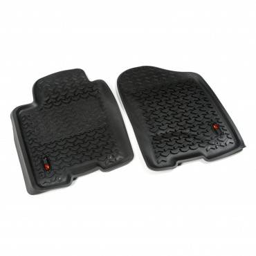 Rugged Ridge - Rugged Ridge Floor Liners, Front, Black (2012-15) Nissan Armada & Titan King/Crew