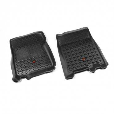 Rugged Ridge - Rugged Ridge Floor Liners, Front, Black (1997-03) F-150 Ext/Reg Cab