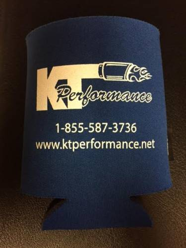 KT Performance Koozie, Blue