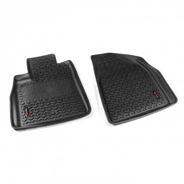 Rugged Ridge - Rugged Ridge Floor Liners, Front, Black; Outlook/Acadia/Traverse/Enclave
