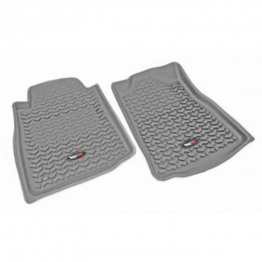 Rugged Ridge - Rugged Ridge Floor Liners, Front, Gray (2008-11) Toyota Sequoia/Tundra
