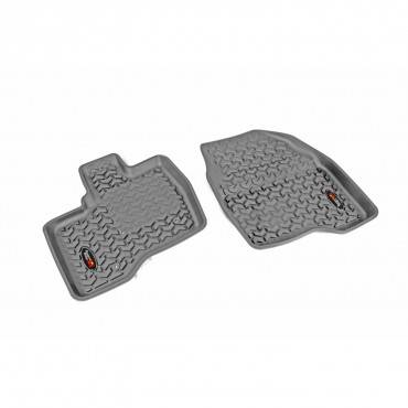 Rugged Ridge - Rugged Ridge Floor Liners, Front, Gray (2011-14) Ford Explorer