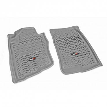 Rugged Ridge - Rugged Ridge Floor Liners, Front, Gray (2012-15) Nissan Armada/Titan King/Crew
