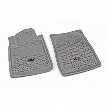 Rugged Ridge - Rugged Ridge Floor Liners, Front, Gray (2012-15) Toyota Sequoia/Tundra