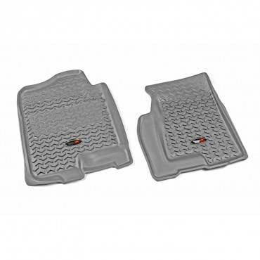 Rugged Ridge - Rugged Ridge Floor Liners, Front, Gray (1999-06) GM Fullsize Pickup/SUV