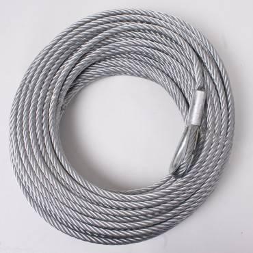 Rugged Ridge - Rugged Ridge Steel Winch Cable, 23/64 Inch x 94 feet