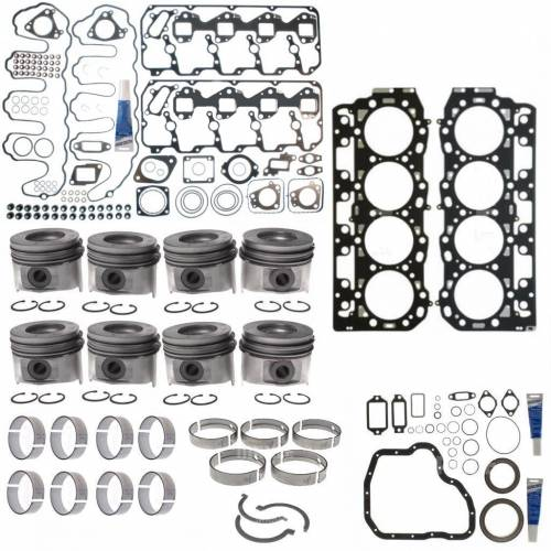 Mahle - MAHLE Clevite Complete Engine Overhaul Kit, Chevy/GMC (2007.5-10) 6.6L Duramax LMM (VIN Code 6)