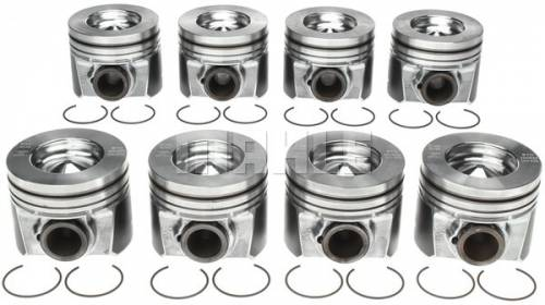 Mahle - Mahle Ford Overhaul Kit, Ford (2008-10) 6.4L Power Stroke, .010 Oversized Pistons