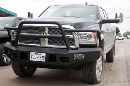 Tough Country - Tough Country Standard Evolution Front Bumper, Dodge (2010-15) 2500 & 3500 Ram