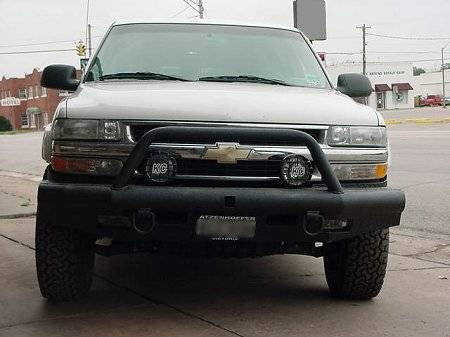 Tough Country - Tough Country Custom Apache Front Bumper, Chevy (2001-02) 2500 HD & 3500 HD Silverado