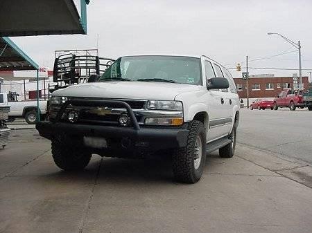 Tough Country - Tough Country Custom Apache Front Bumper, Chevy (1988-00) 1500, 2500, & 3500 Silverado & (92-98) Suburban