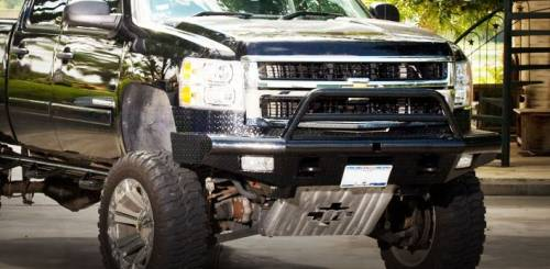 Tough Country - Tough Country Custom Apache Front Bumper, Chevy (2007.5-13) 1500 Silverado
