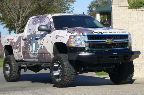 Tough Country - Tough Country Custom Apache Front Bumper, Chevy (2011-14) 2500 & 3500 Silverado