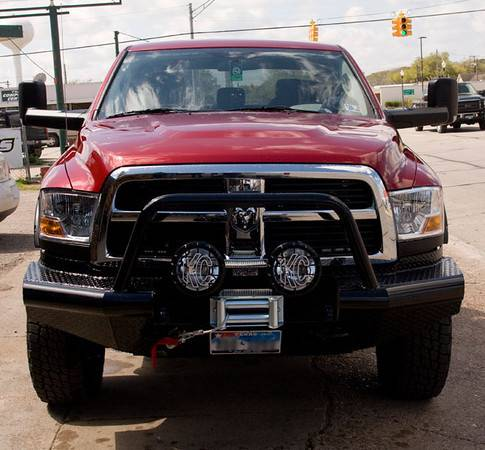 Tough Country - Tough Country Custom Apache Front Bumper, Dodge (2010-13) 4500 & 5500