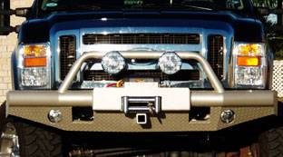 Tough Country - Tough Country Custom Apache Front Bumper, Ford (2008-10) F-450 & F-550