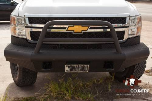 Tough Country - Tough Country Custom Apache Front Bumper, GMC (2007.5-10) 2500 & 3500 Sierra