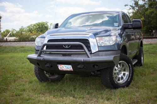Tough Country - Tough Country Custom Apache Front Bumper, Toyota (2007-13) Tundra