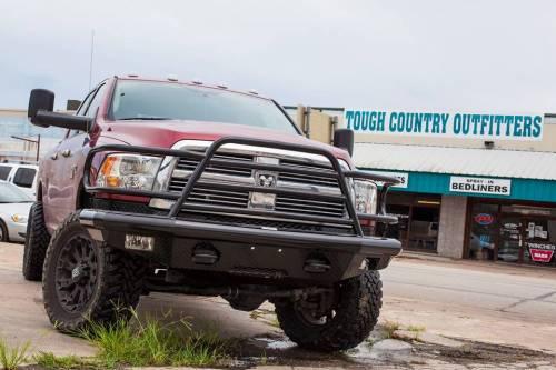 Tough Country - Tough Country Custom Deluxe Front Bumper, Dodge (2013) 1500 (non-Mega Cab)