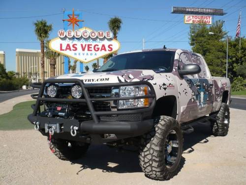 Tough Country - Tough Country Custom Deluxe Front Bumper, GMC (2011-14) 2500 & 3500 Sierra