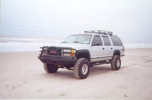 Tough Country - Tough Country Custom Deluxe Front Bumper, Chevy (1999-02) 1500 Silverado & (99-06) 1500 Suburban/Tahoe