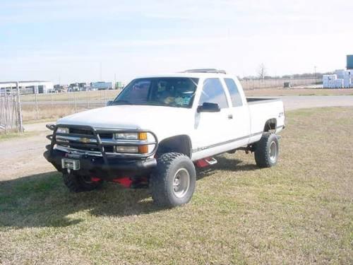 Tough Country - Tough Country Custom Deluxe Front Bumper, Chevy (2001-02) 2500 & 3500 Silverado