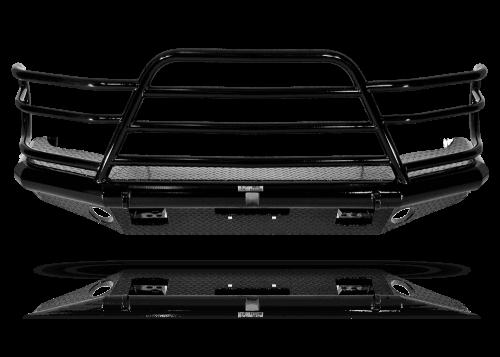 Tough Country - Tough Country Custom Deluxe Front Bumper, Chevy (2003-07) 2500 & 3500 Silverado