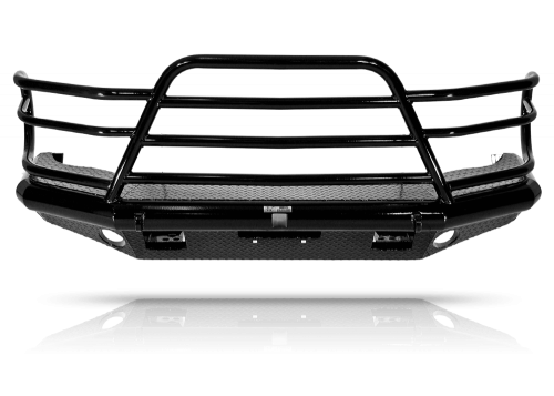 Tough Country - Tough Country Custom Deluxe Front Bumper, Toyota (2005-12) Tacoma
