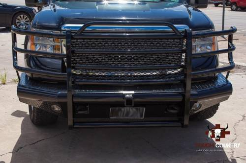 Tough Country - Tough Country Custom Traditional Front Bumper, GMC (2011-14) 2500 & 3500 Sierra