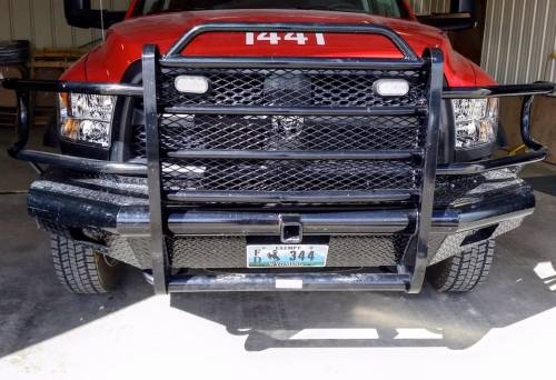 Tough Country - Tough Country Custom Traditional Front Bumper, Dodge (2010-13) 4500 & 5500 Ram