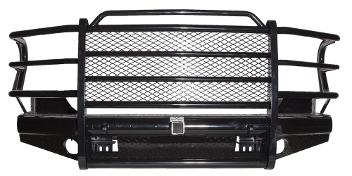 Tough Country - Tough Country Custom Traditional Front Bumper, Dodge (2006-09) 1500 Mega Cab, 2500, & 3500 Ram