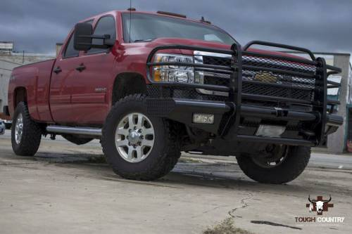 Tough Country - Tough Country Custom Traditional Front Bumper, Chevy (2011-14) 2500 & 3500 Silverado