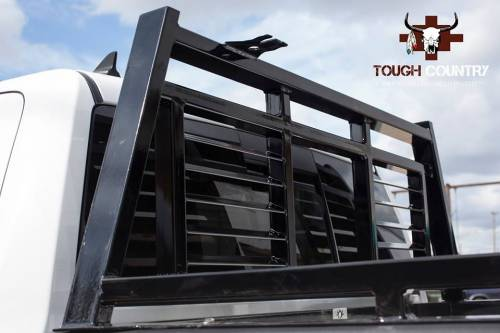 Tough Country - Tough Country Custom Louvered Headache Rack, Chevy/GMC (2007.5-15) 1500, 2500, & 3500 Silverado/Sierra