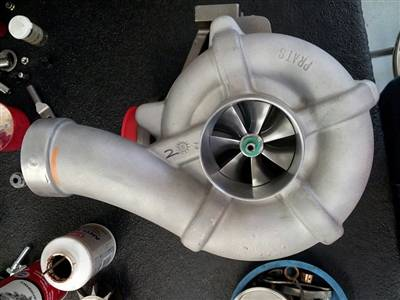 High Tech Turbo - High Tech Turbo Low Pressure Turbo Upgrade, Ford (2008-10) 6.4L Power Stroke(Billet 71MM)