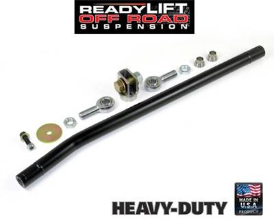 "ReadyLIFT Suspension - ReadyLIFT Anti Wobble Trac Bar Kit, Ford (2005-16) F-250, F-350, F-450, & F-550 Super Duty, 0-4"" Lift Applications"