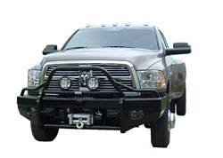 Ranch Hand - Ranch Hand Sport Bullnose Winch Ready Front Bumper, Dodge (2010-17) 2500/3500 & 1500/2500 Mega Cab