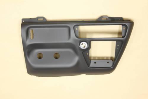 Ford Genuine Parts - Ford F-650 Dash Kit, Ford (1999-04) F-250/350/450/550/650 Super Duty (Manual Transmission) Black