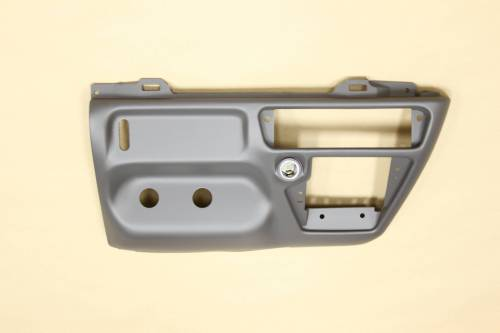Ford Genuine Parts - Ford F-650 Dash Kit, Ford (1999-04) F-250/350/450/550/650 Super Duty (Manual Transmission) Grey